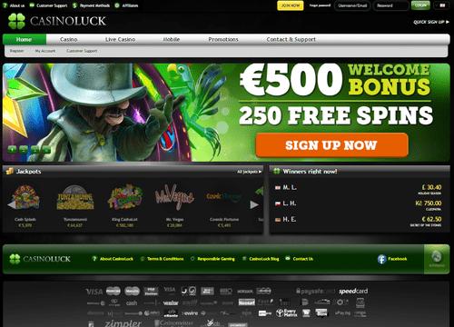 Casino Luck review - Best Online Casinos
