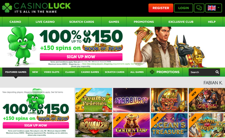 Casino Luck Review - top rating of best online casinos