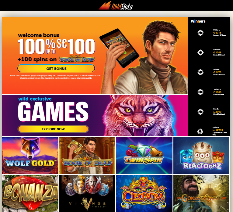 wildslots casino review